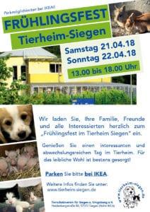 Frühlingsfest im Tierheim Siegen @ Tierheim Siegen | Siegen | Nordrhein-Westfalen | Deutschland