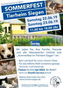 Sommerfest 2019 im Tierheim Siegen @ Tierheim Siegen | Siegen | Nordrhein-Westfalen | Deutschland